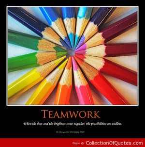 Teamwork-When-The-Best-And-The-Brightest-Come-Together-The ...