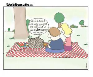 Picnic guests