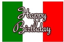 Happy Birthday Song in Italian