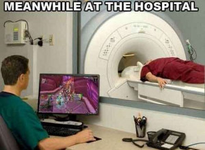 Meanwhile at the hospital