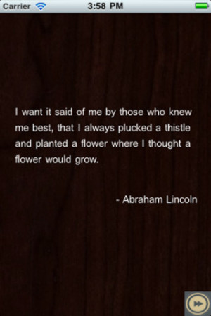 Download Abraham Lincoln Quotes iPhone iPad iOS