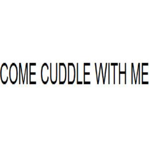 cuddle buddy | Tumblr