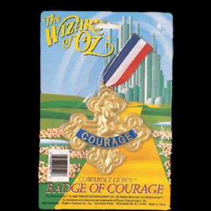 badge of courage wizard of oz 082686005296 Courage Wizard Of Oz