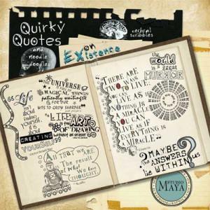Quirky Quotes & Noodle Doodles! : Scrapbookgraphics – Digital ...