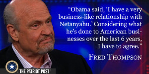 Quote: Fred Thompson — The Patriot Post