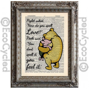 Classic Winnie The Pooh And Piglet Quote Winnie the pooh and piglet