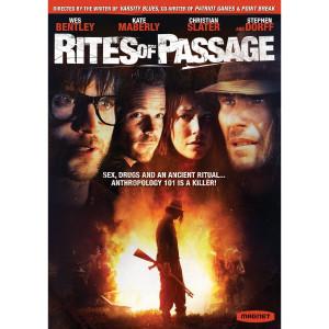 Rite of passage essay