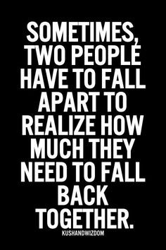 quotes true words love apart quotes fall apart making mistakes quotes ...
