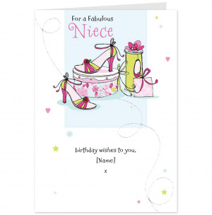 Full - Birthday Wishes Quotes Funny To A Lovely Greetings Niece Card ...