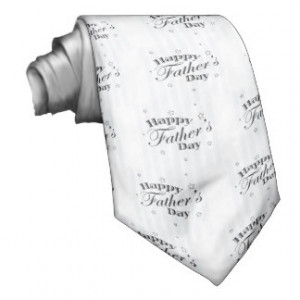 Happy Father's Day Message Neck Tie