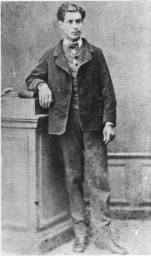 Comte de Lautréamont, pen name for Isadore Lucsen Ducasse