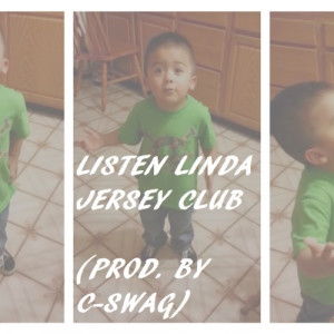 ... club remix with the quote 'Listen Linda' from this viral video