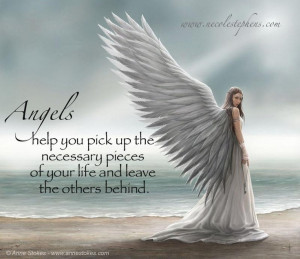 Angels Help You Pick Up The Necessary Pieces Of Your Life And Leave ...