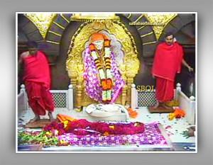 Shri Shirdi Sai Baba Live Samadhi Mandir Darshan Telecasted By picture