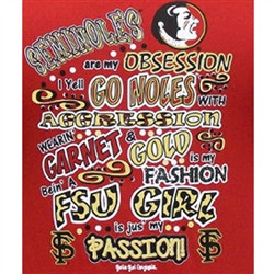 Girlie Girl Originals - Florida State Obsession T-Shirts Seminoles