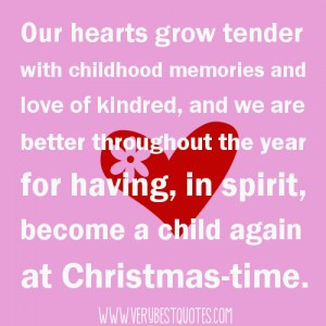 Our hearts grow tender quotes