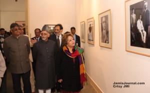 India Mr Mohammad Hamid Ansari along with his wife Ms Salma Ansari