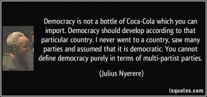 More Julius Nyerere Quotes