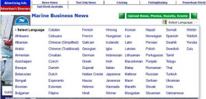 Sailing in 78 languages – Sail-World.com spreads the news world-wide