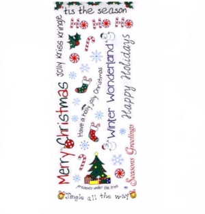 Christmas Sayings too superstitious