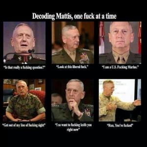 Gen. 'Mad Dog' Mattis Mad Dogs, 960809 Pixel, 960 809 Pixel, Funny ...