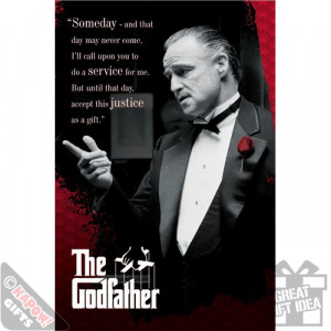 ... the godfather poster some day quote marlon brando mafia gangster movie