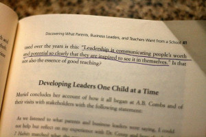 110/365 - Quote on pg. 41 of The Leader in Me by Stephen R. Covey. My ...