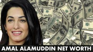 amal alamuddin net worth