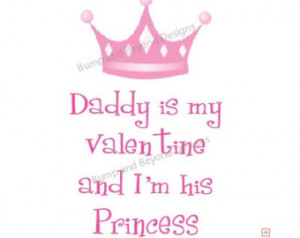 Daddy Baby Girl VALENTINES Day Shir t INSTANT DOWNLOAD Printable Crown ...