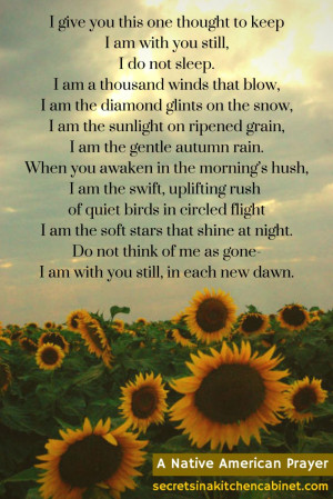 ... .com A Native American Prayer for Grief #grief #prayer