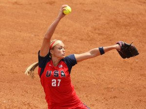 olympics day 8 softball in this photo jennie finch jennie finch of the ...