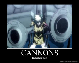 Bitches Love Cannons Hellsing Ultimate Abridged GIF