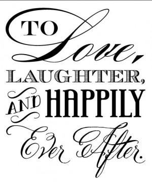 To Love Laughter and Happily Ever After koozie by cmeahan on Etsy ...