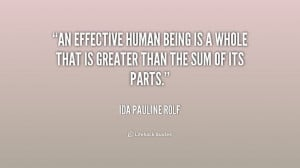 ... Ida Pauline Rolf at Lifehack QuotesIda Pauline Rolf at http://quotes