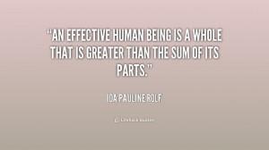 ... Ida Pauline Rolf at Lifehack QuotesIda Pauline Rolf at http://quotes