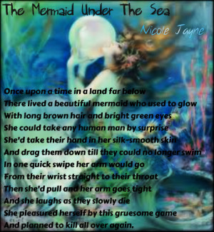 The Mermaid Under The Sea