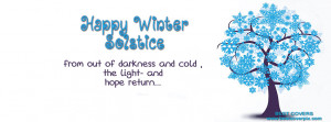 """Happy Winter """" FB Timeline Cover Photo"""