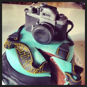 My very own #Nikon #Birthday #Cake