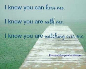 know you are with me