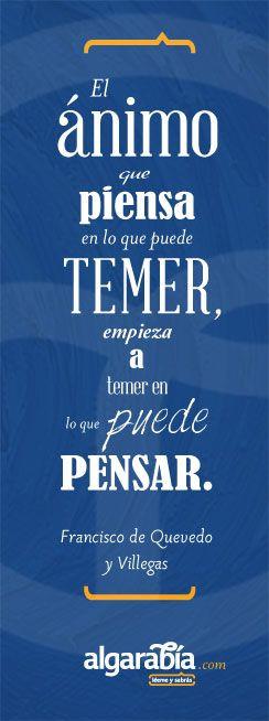 Francisco de Quevedo #frase #cita #quote