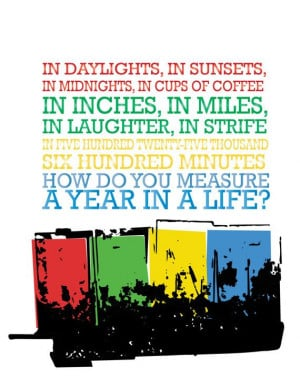 , Seasons Of Love Rent, Music Broadway Quotes, Music Theatres Quotes ...