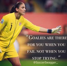 Soccer Goalie Quotes For Girls Soccer goalie quotes,