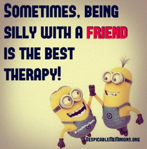 being silly with a friend sometimes being silly with a friend is the ...