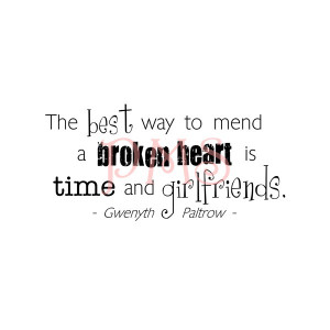 Mending A Broken Heart Quotes ~ Paper Makeup Stamps -