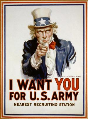 us army images public domain | Public Domain Recruitment Poster: I ...