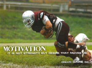 The main difference in most youth football players is desire. It's ...