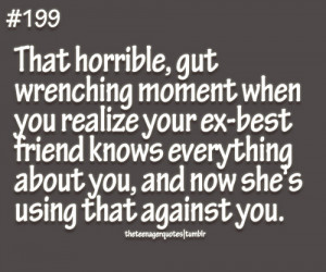 tumblr.com#ex best friend quotes #sad