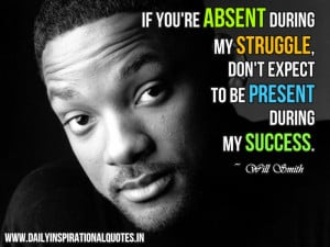 Will Smith Quote on Struggle