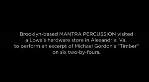 Percussion Quotes Though the really should think