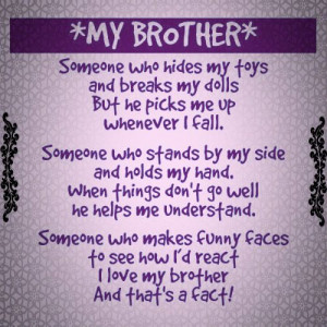 Brother Quotes, Pinterest Quotes, I Love My Brother Quotes, Birthday ...